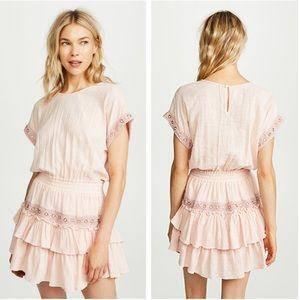 Anthropologie | MISA LA Olivia Ruffled Mini Dress
